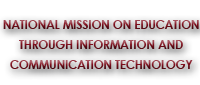 Image of National Mission on Education through Information and Communication Technology (NMEICT)